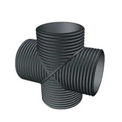 Dual Wall Corrugated HDPE Drainage Fittings are a dual wall high-density polyethylene pipe with its smooth interior wall and corrugated exterior wall offers ...  sc 1 st  Avem Water & Dual Wall Corrugated HDPE Drainage Fittings |